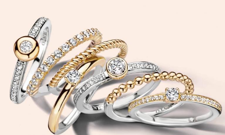 Ti Sento Milano heeft een hele grote collectie ringen.