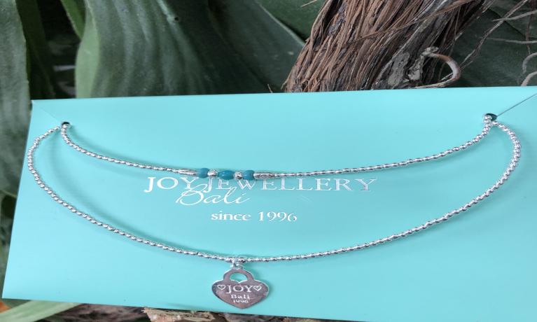 Nieuw collier van joy Jewellery Bali.
