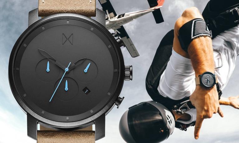 MVMT horloge, het nieuwe horloge merk van Nederland.