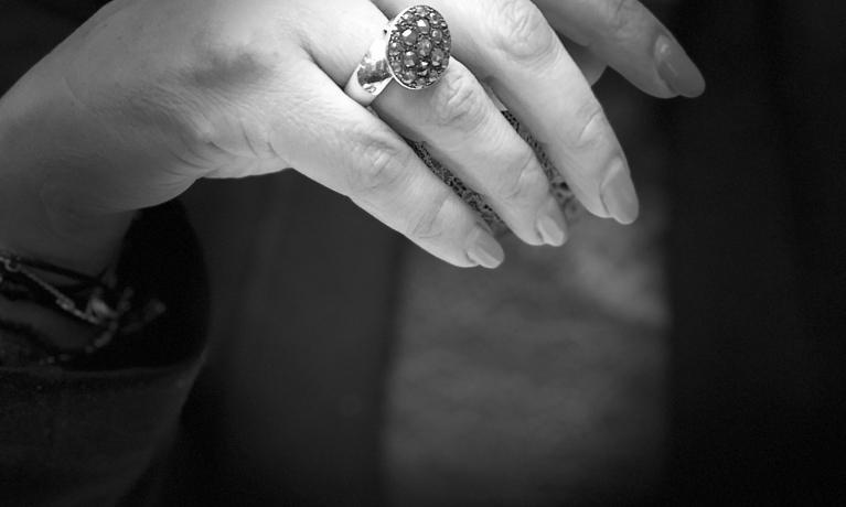 Gouden ring uit eigen atelier van Pianello Jewels.